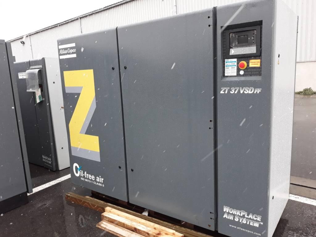 Atlas Copco ZT 37 VSD FF, Compressors, Industrial