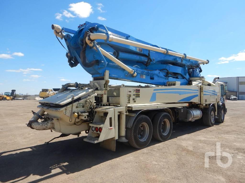 Putzmeister BSF 43Z.16H, Boom Pumps, Construction Equipment