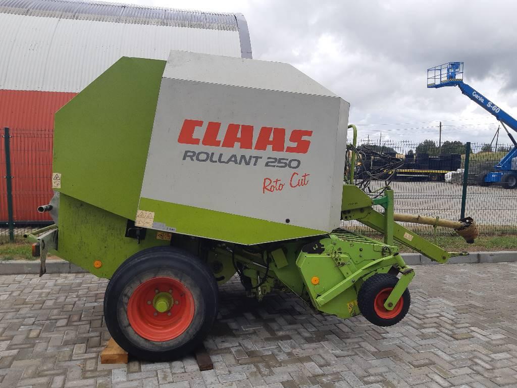 CLAAS Rollant 250 RC, Pyöröpaalaimet, Maatalouskoneet