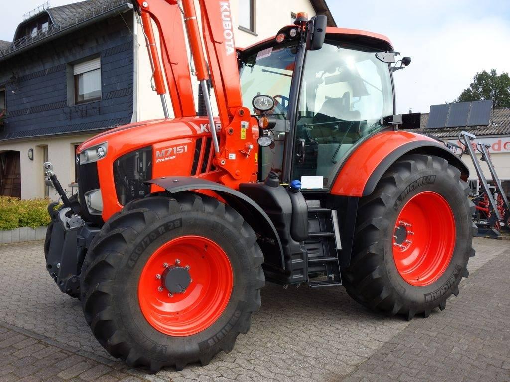 kubota m7151 premium tracteur agricole thommen schwall. Black Bedroom Furniture Sets. Home Design Ideas