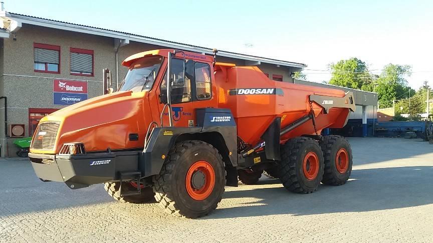 Doosan - Moxy MT26, Articulated Dump Truck, Construction Equipment