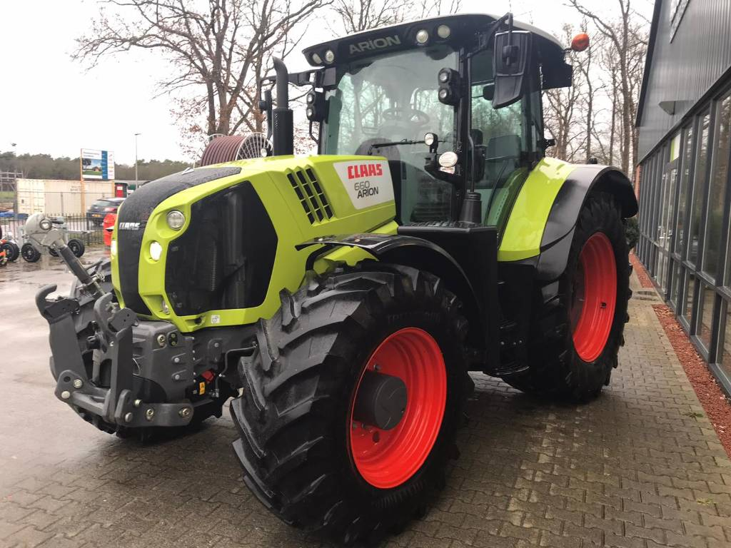 CLAAS Arion 660 C-matic, Tractors, Agriculture