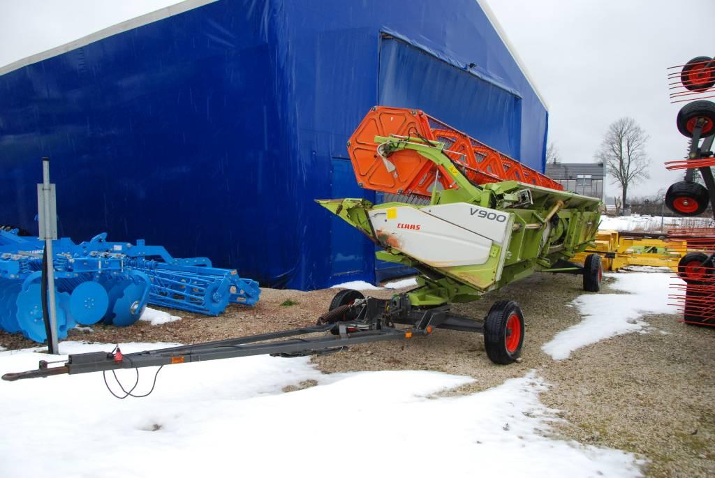 CLAAS V900, Kombaini heedrid, Põllumajandus