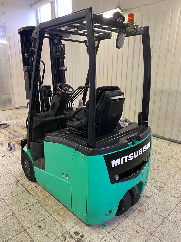 Mitsubishi FB15PNT, Sähkötrukit, Materiaalinkäsittely