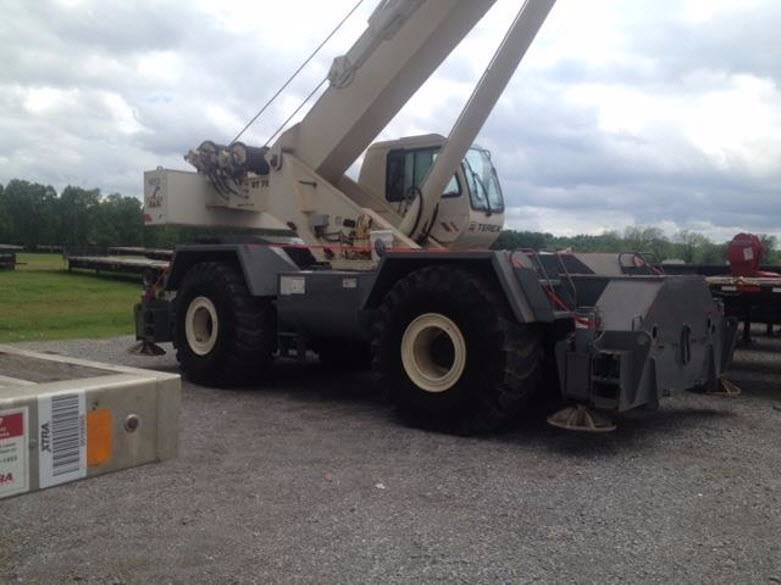 Terex RT780, Rough Terrain Cranes, Construction Equipment