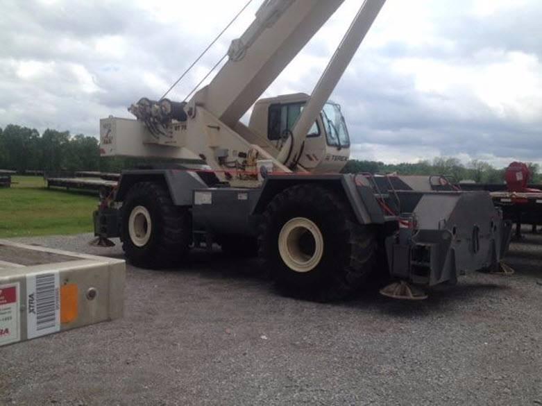 Terex RT80, Rough Terrain Cranes, Construction Equipment