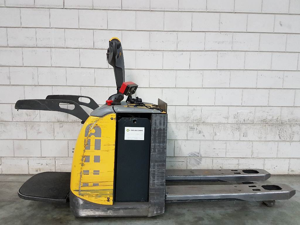 Atlet PLP200, Electro-pallettrucks, Laden en lossen
