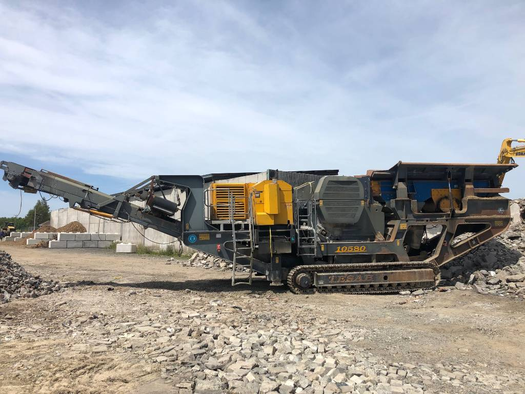 Tesab 10580, Mobile crushers, Construction Equipment