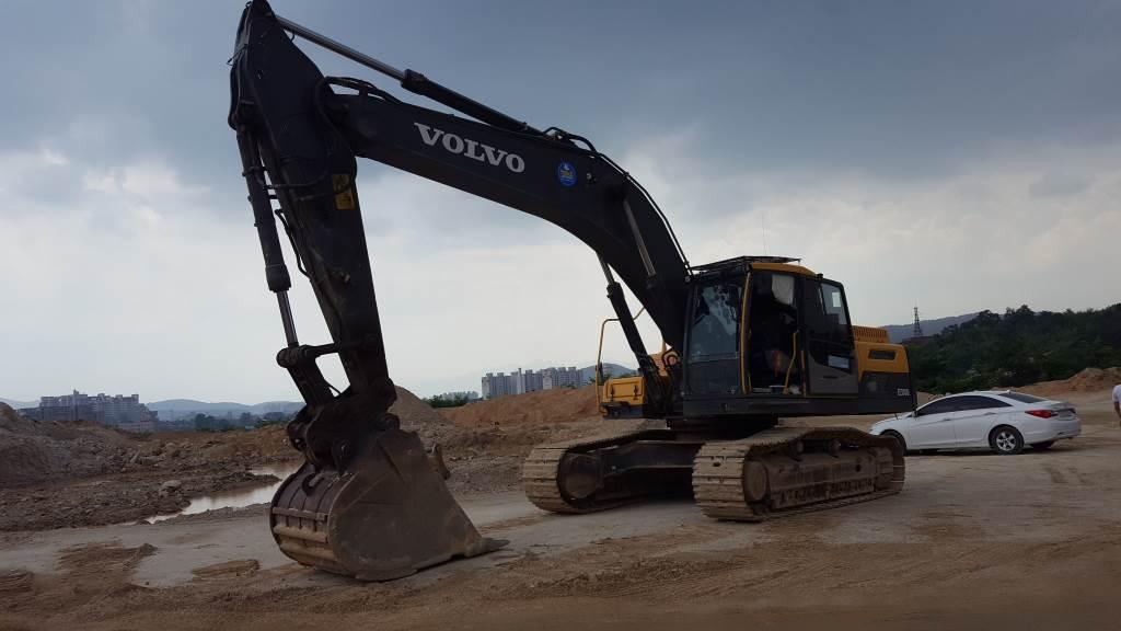 Volvo EC300D, Crawler excavators, Construction