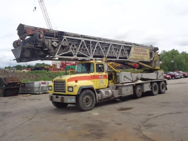 Putzmeister TB105, Concrete Equipment, Construction Equipment