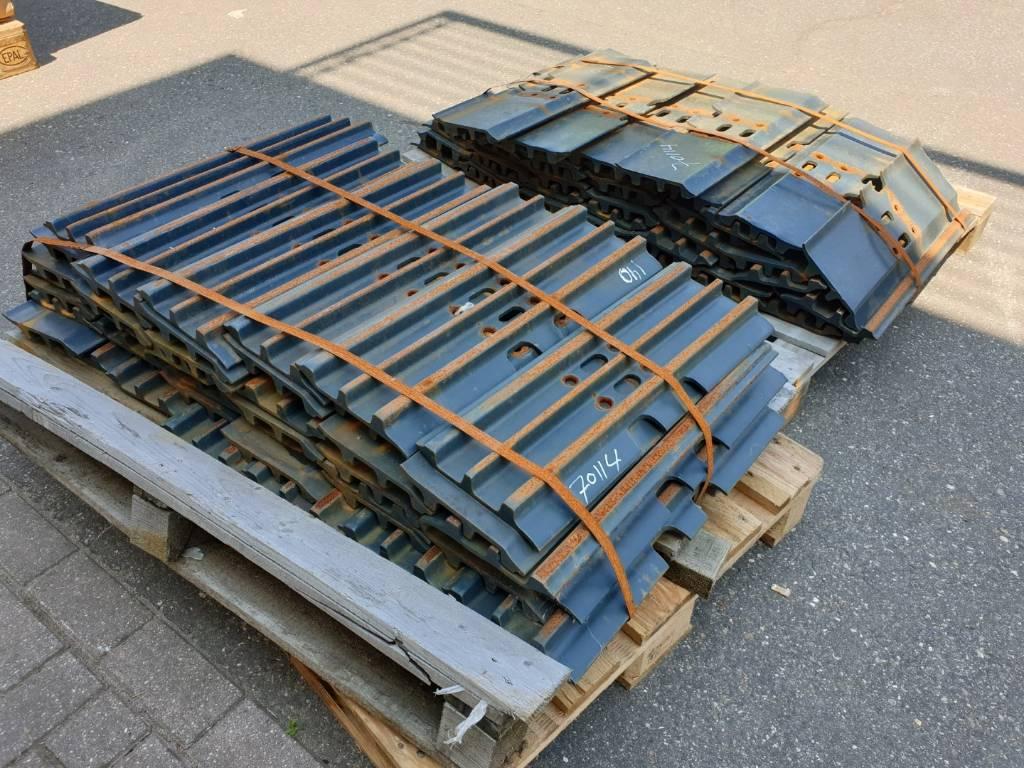 Hyundai Track pads - Robex 140 - 600mm  - Tracks, chains and