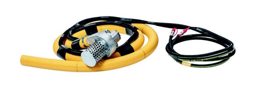 Hill Cobra 100 hyd.drevet gjødselpumpe, Andre komponenter, Anlegg