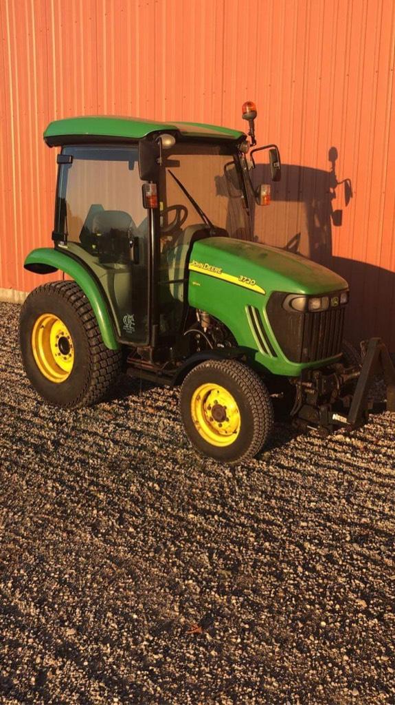 John Deere 3720, Kompakte traktorer, Have & Park