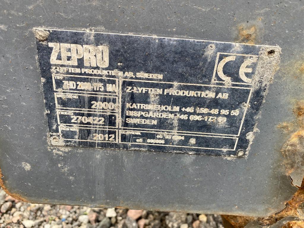 [Other] Zepro ZHD 2000, Band, kedjor och underreden, Transportfordon