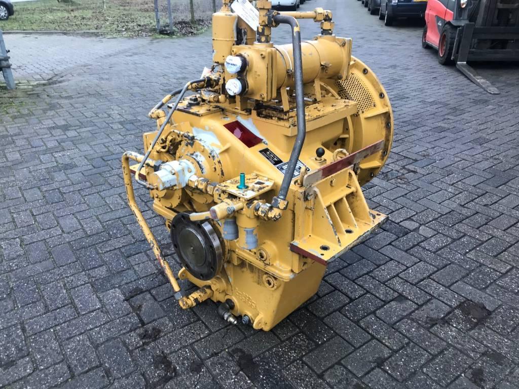 Reintjes WAF 540 - Marine Transmission 4.45:1 - DPH 105227, Transmissions, Construction