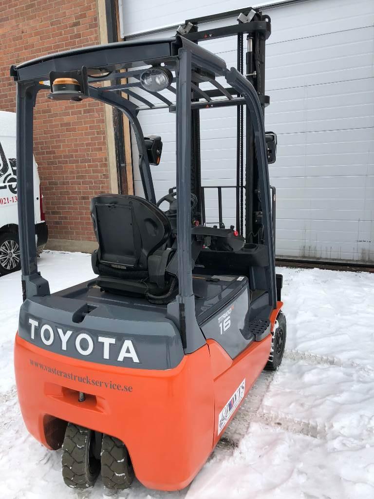 Toyota 8 FB ET 16, Elmotviktstruckar, Materialhantering
