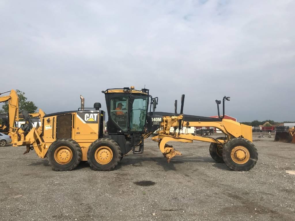 Caterpillar 140M 4WD, Motor Graders, Construction Equipment