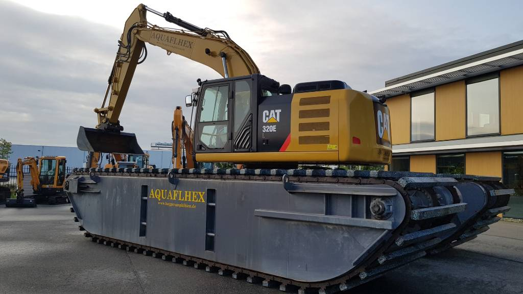 Caterpillar 320 E Amfibic Excavator - Euro Rental possible!, Amphibious Excavators, Construction Equipment