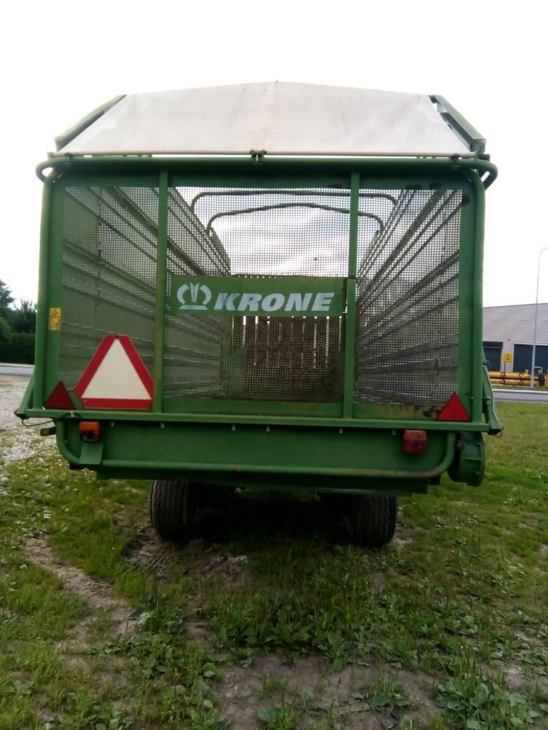 Krone Titan 6/48, Laadurhaagised, Põllumajandus
