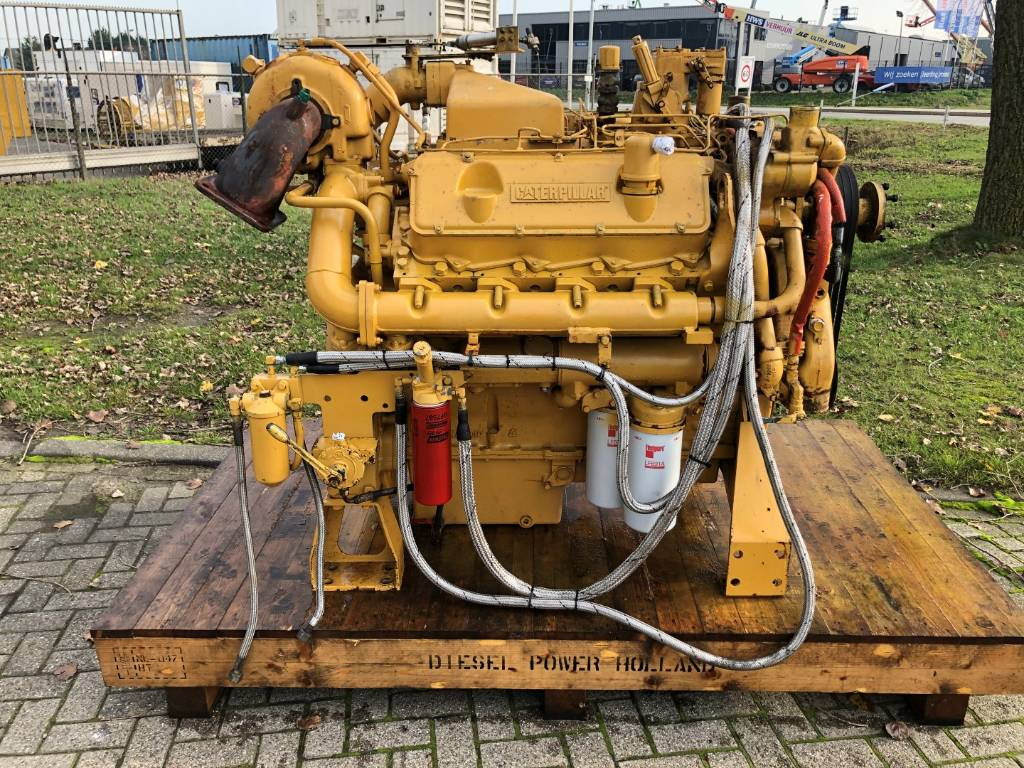 Caterpillar 3408 - Industrial Engine - 358 kW - 67U, Industrial Applications, Construction