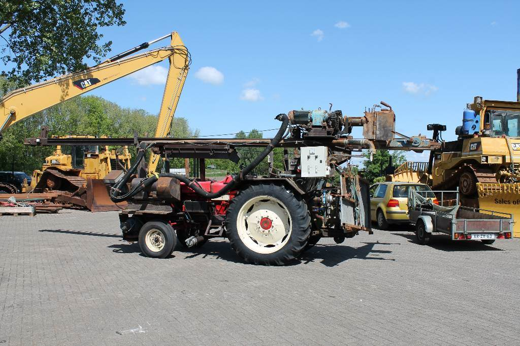 International SOLD! mobile drill 745F, Waterwell drill rigs, Construction