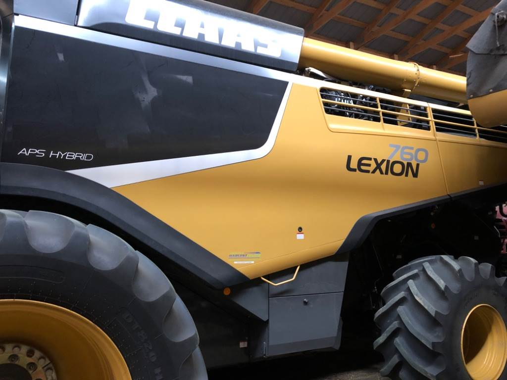 CLAAS 760, Combines, Agriculture