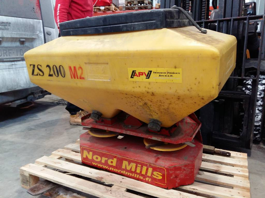 [Other] Nord Mills ZS 200 M2 piensiemenkylvölaite, Muut kylvö- ja istutuskoneet sekä lisävarusteet, Maatalous