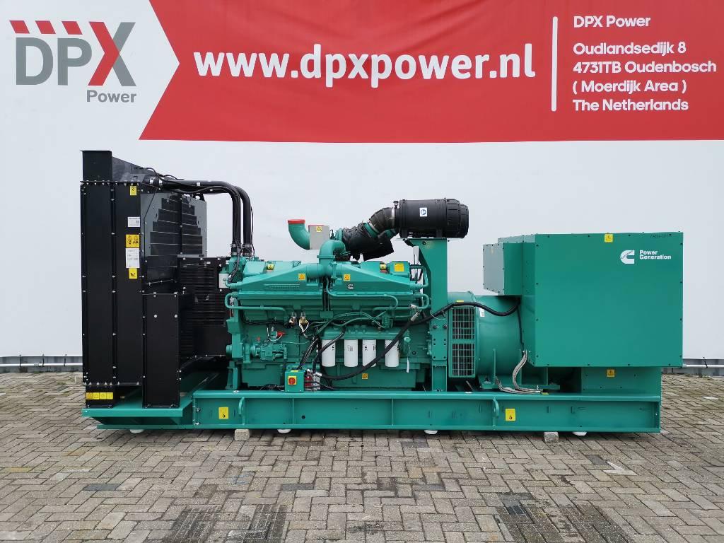 Cummins C1100D5B - 1.100 kVA Generator - DPX-18531-O, Diesel generatoren, Bouw