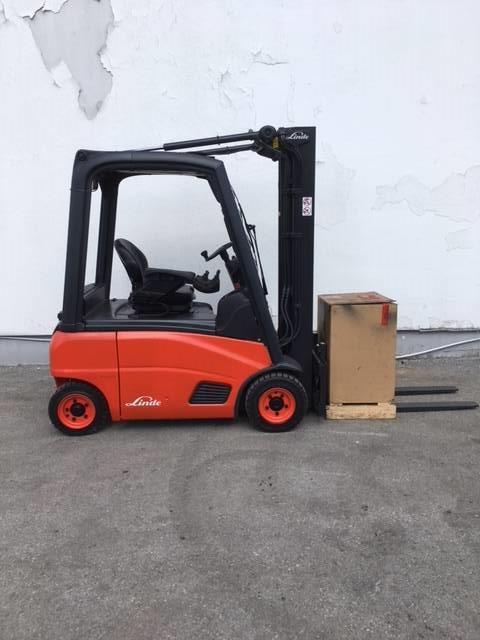 Linde E16P/386, Electric forklift trucks, Material Handling