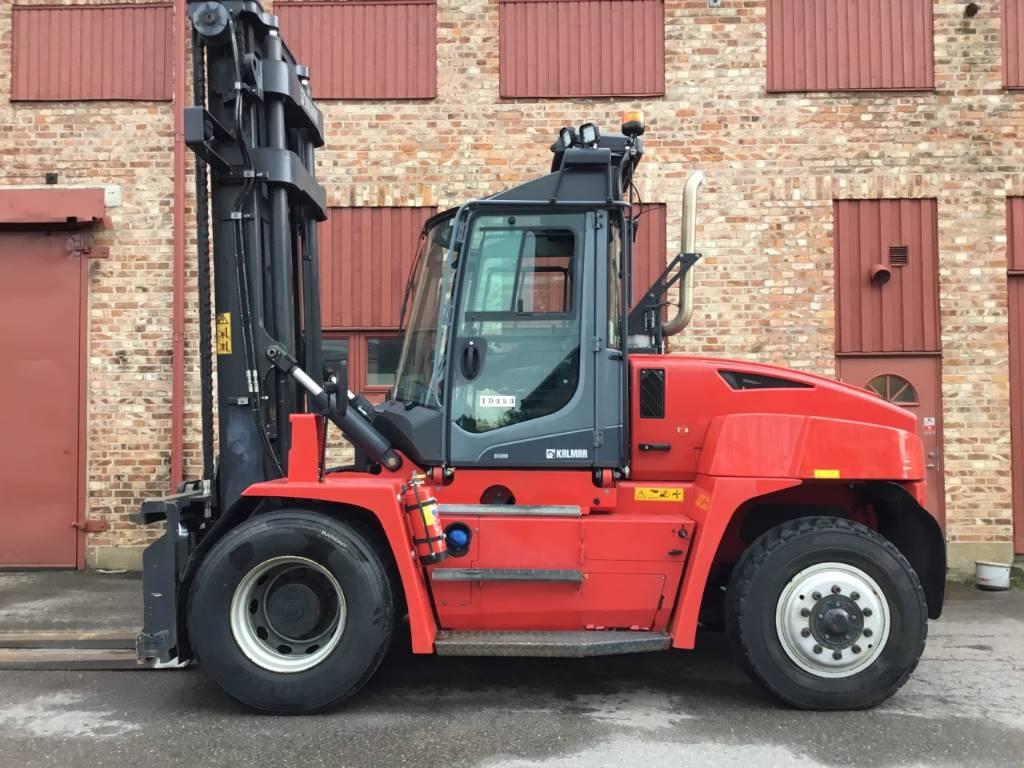Kalmar DCG 90-6, Dieselmotviktstruckar, Materialhantering