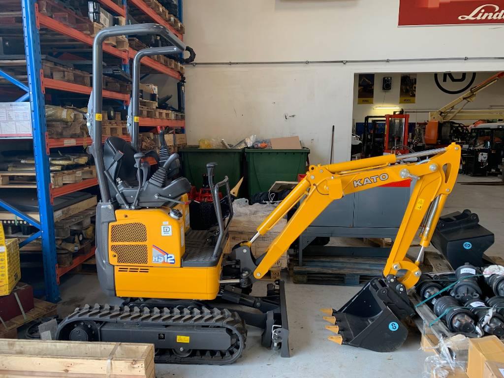 Kato VXE HD12, Mini excavators < 7t (Mini diggers), Construction