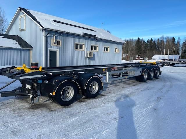 Jyki Lastväxlarvagn, Lastväxlarsläp, Transportfordon