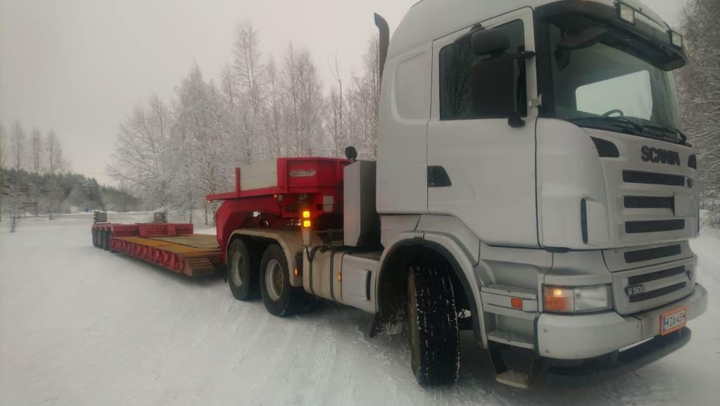 Scania R500, 6x4, Vetopöytäautot, Kuljetuskalusto