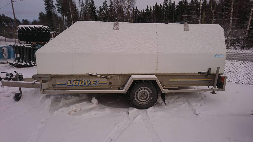 Lööve Släpet Ls 1300 kg, Personbilssläp, Transportfordon