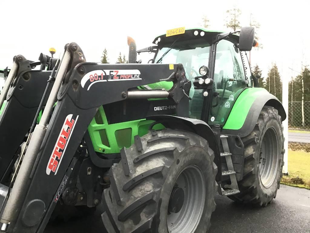 Deutz-Fahr 7250 TTV, Traktorit, Maatalouskoneet