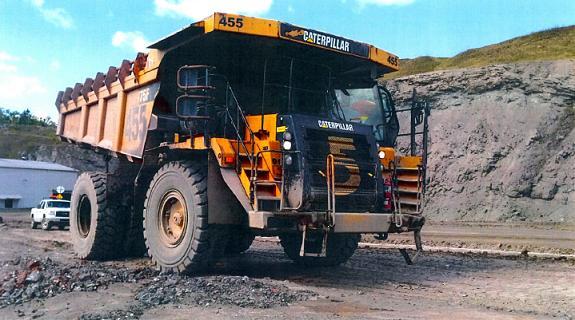 Caterpillar 775F H306, Rigid dump trucks, Construction Equipment