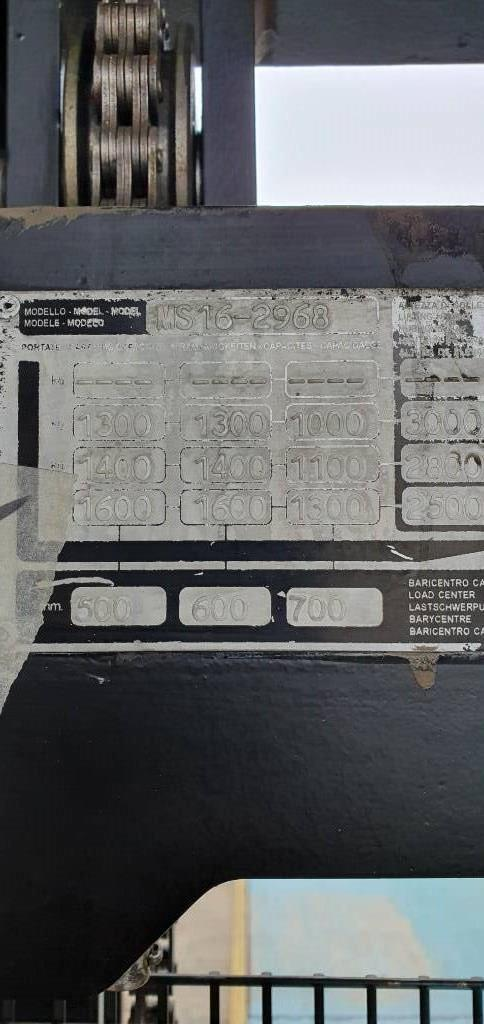 Yale MS16-2968, Pedestrian stacker, Material Handling