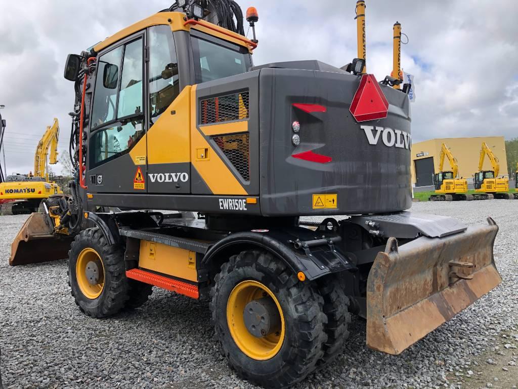 Volvo EWR150E, Hjulgrävare, Entreprenad