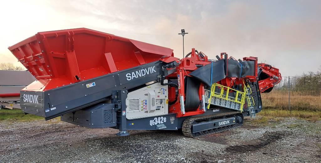 Sandvik QE342e, Mobile screeners, Construction Equipment