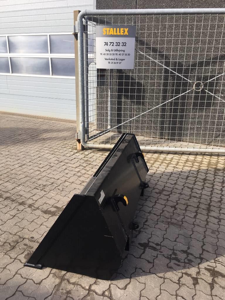 [Other] Læsseskovl 1400 mm Euro beslag Skovl / Bucket / Sc, Skovle, Entreprenør