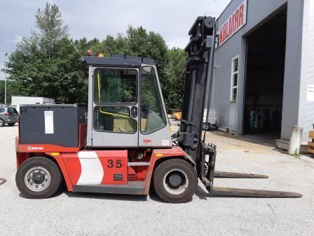 Kalmar ECE70-6, Electric forklift trucks, Material Handling
