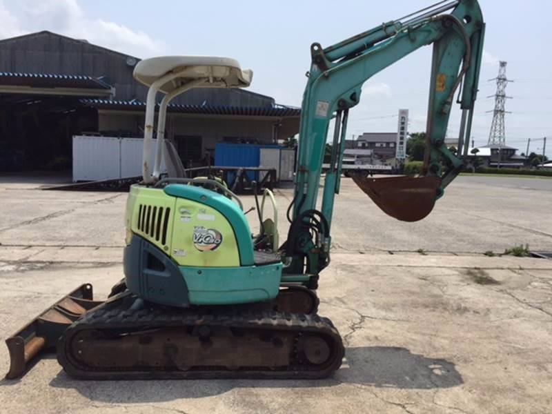 Yanmar ViO30-3, Mini excavators < 7t (Mini diggers), Construction