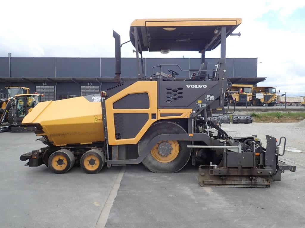 Volvo 6870 C, Asphalt pavers, Construction