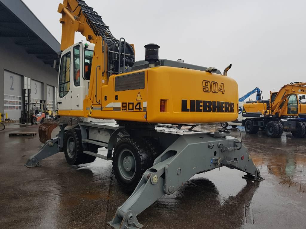Liebherr A904 C, Waste / Industry Handlers, Construction Equipment