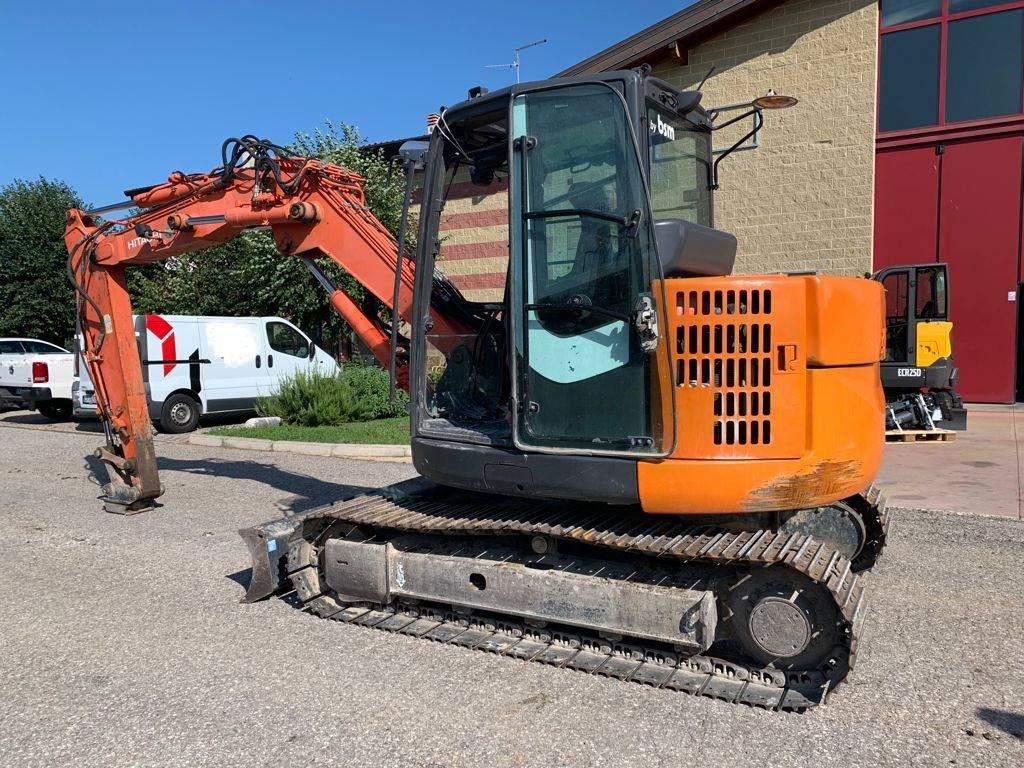 Hitachi ZX 85 US B-3, Mini excavators  7t - 12t, Construction Equipment