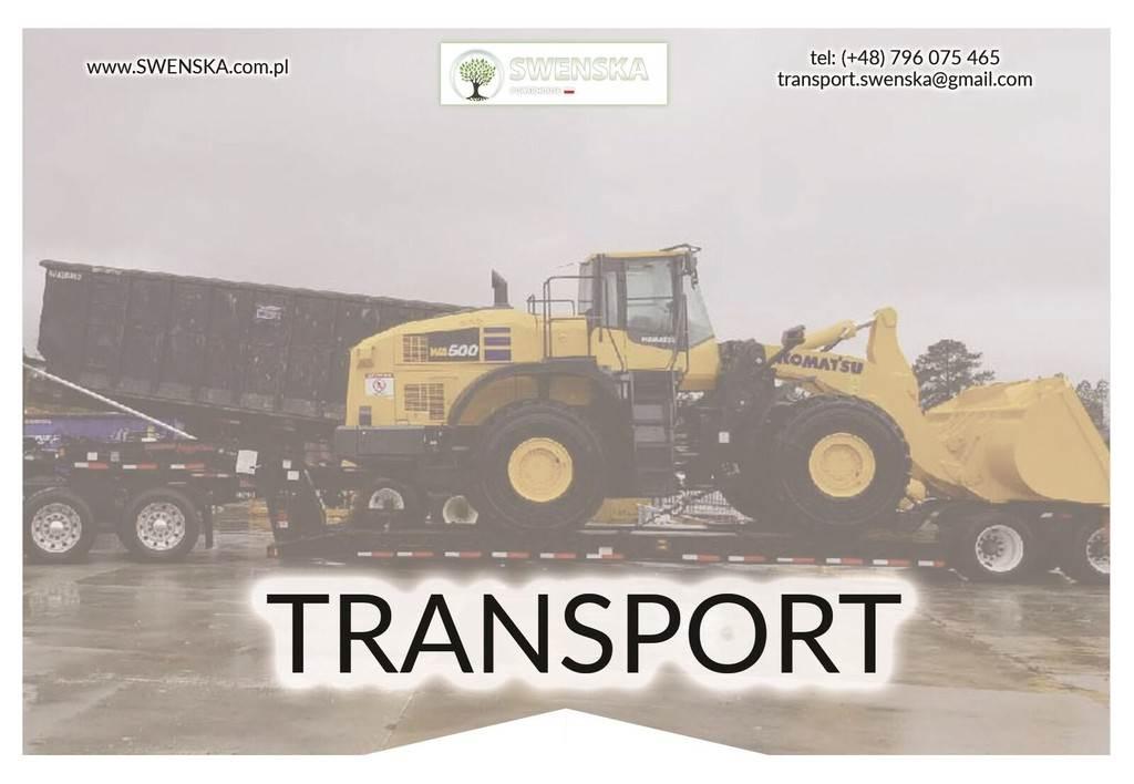 Caterpillar Transport maszyn. Zadzwoń 577. 011. 156. Liczymy w, Koparko-ładowarki, Maszyny budowlane