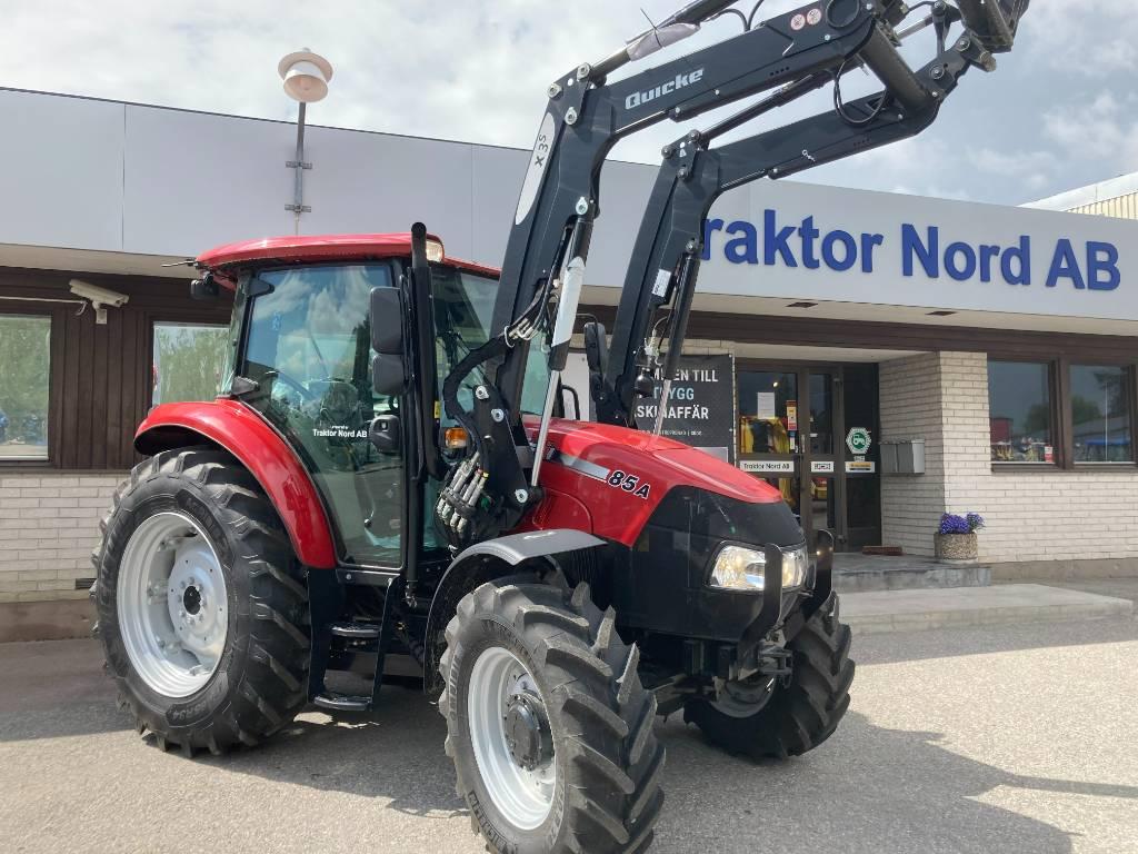 Case IH Farmall 85 A med Quicke lastare, Traktorer, Lantbruk