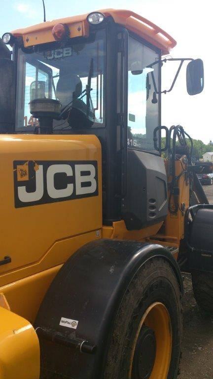 JCB 416 HT Lastare, SNÖUTRUSTAD, Uthyres, Hjullastare, Entreprenad