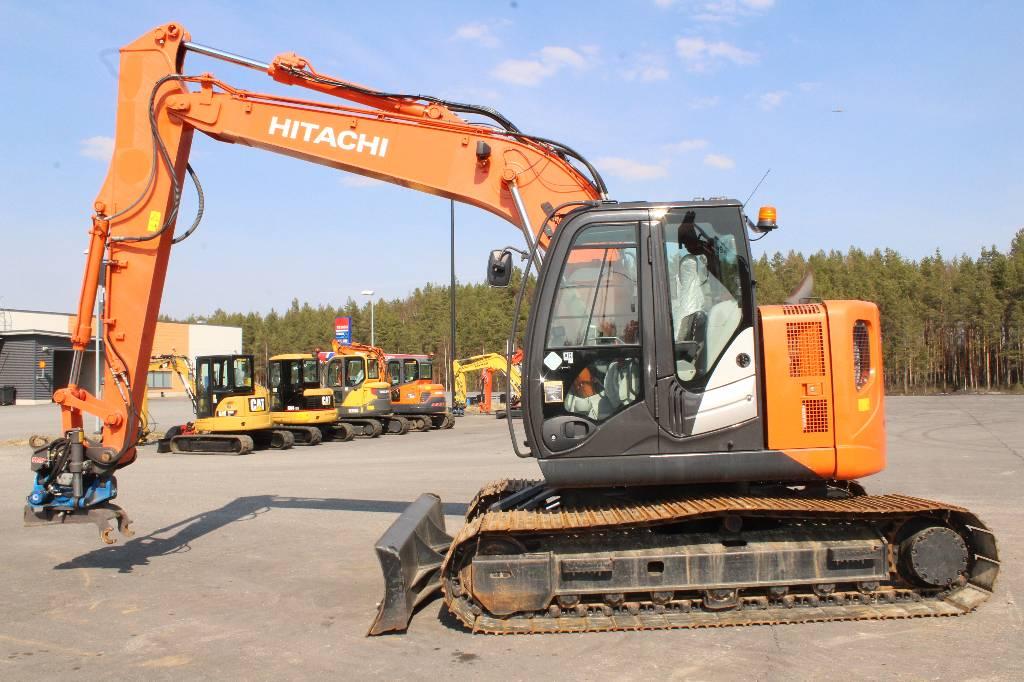 Hitachi ZX 135 US 5-B / MYYTY, SOLD, Telakaivukoneet, Maarakennus