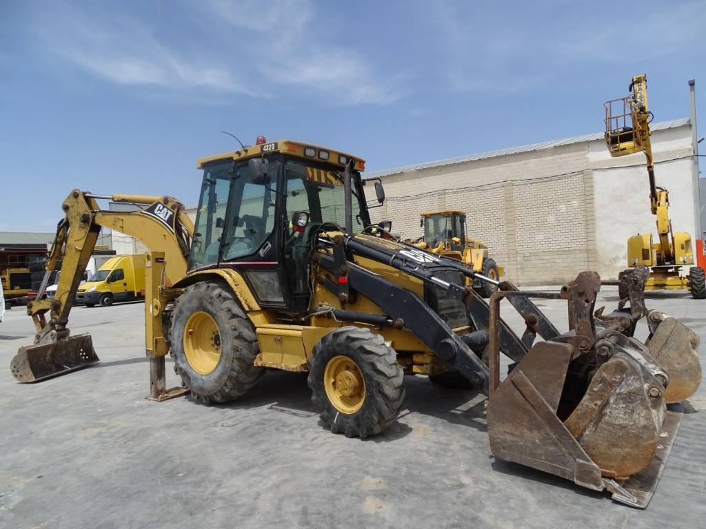 Caterpillar 432 D, Retrocargadoras, Construcción